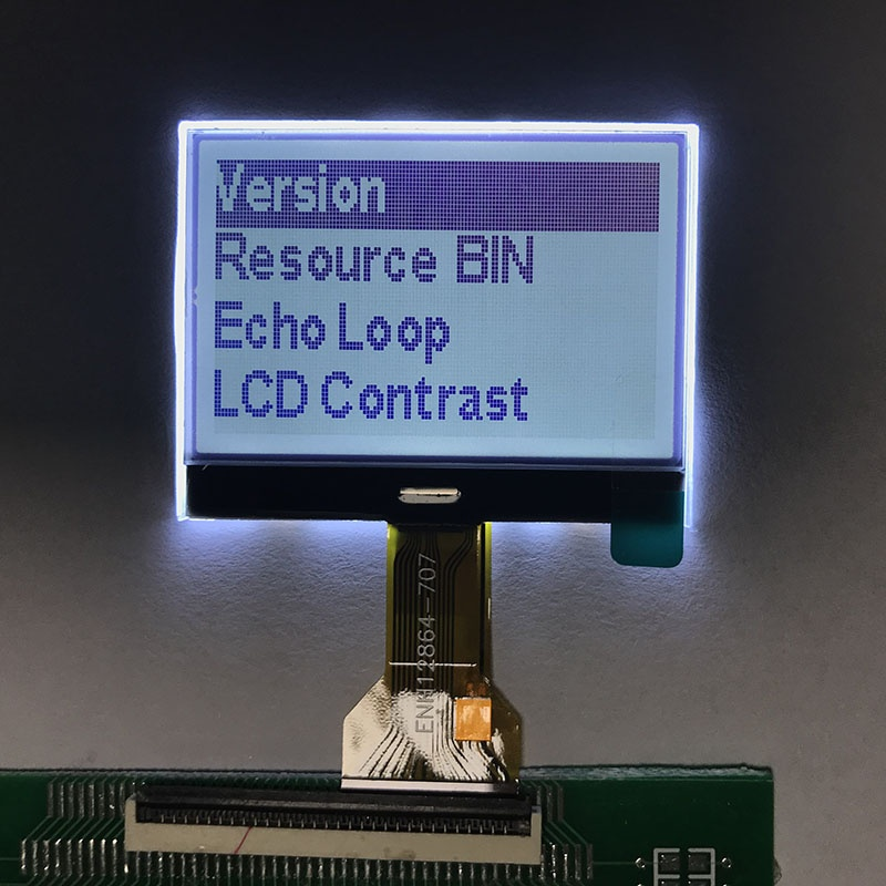 128x64 Graphic LCD Display Module